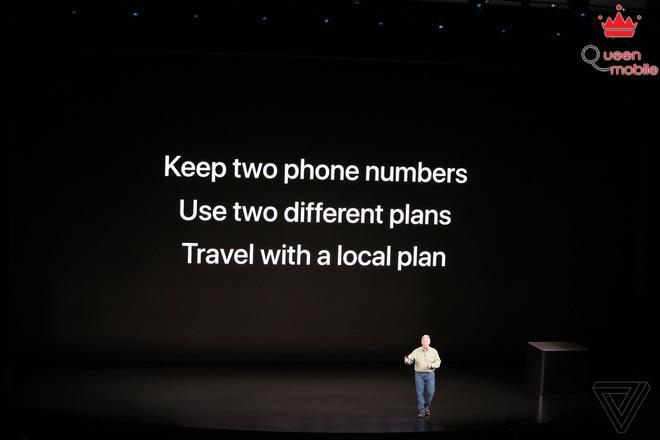 Sforum - Trang thông tin công nghệ mới nhất apple-iphone-2018-event-theverge-dbohn1332-1536776591309581544907 Apple giới thiệu iPhone XS và iPhone XS Max: Hỗ trợ 2 SIM, chip A12 Bionic, chống nước IP68, bộ nhớ 512GB, màu vàng mới, giá từ 999 USD