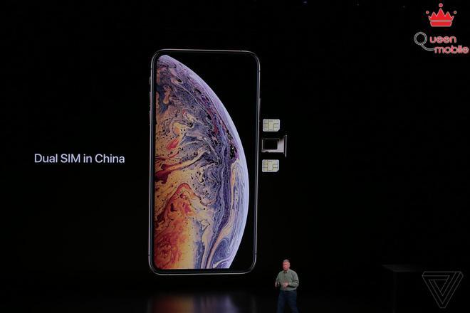 Sforum - Trang thông tin công nghệ mới nhất apple-iphone-2018-event-theverge-dbohn1354-15367765907751059383633 Apple giới thiệu iPhone XS và iPhone XS Max: Hỗ trợ 2 SIM, chip A12 Bionic, chống nước IP68, bộ nhớ 512GB, màu vàng mới, giá từ 999 USD