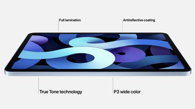 iPad Air 4 ra mắt: Thiết kế giống iPad Pro, chip A14 Bionic, USB-C, giá từ 599 USD - Ảnh 1.