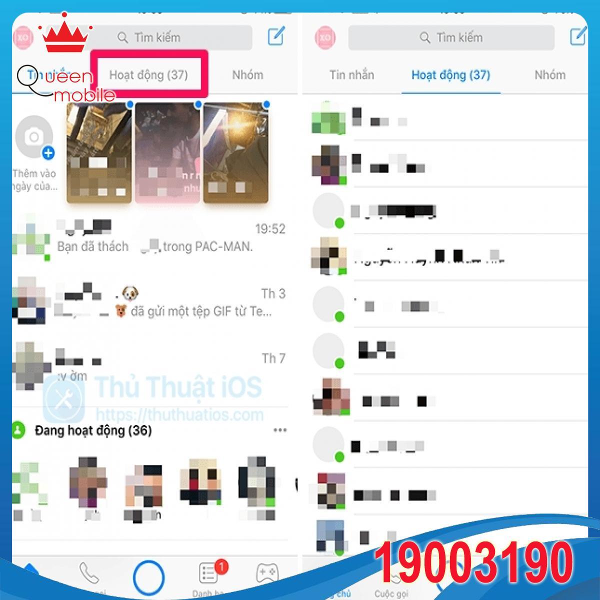 xem-ai-dang-online-tren-messenger