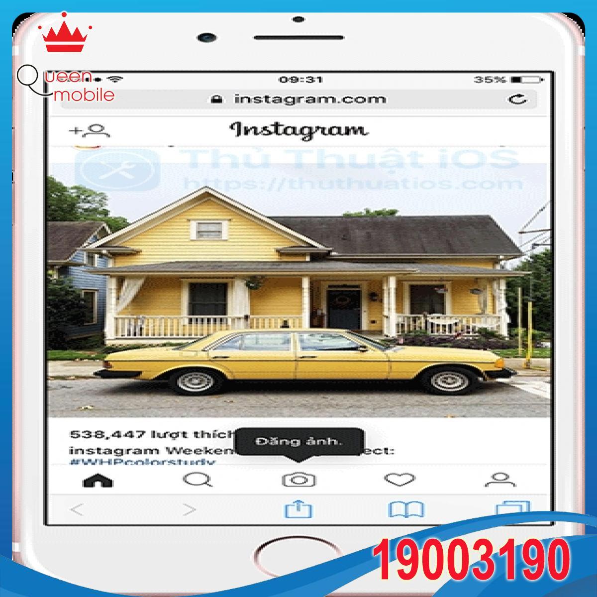 Cách đăng hình lên Instagram qua trang web trên di động và máy tính