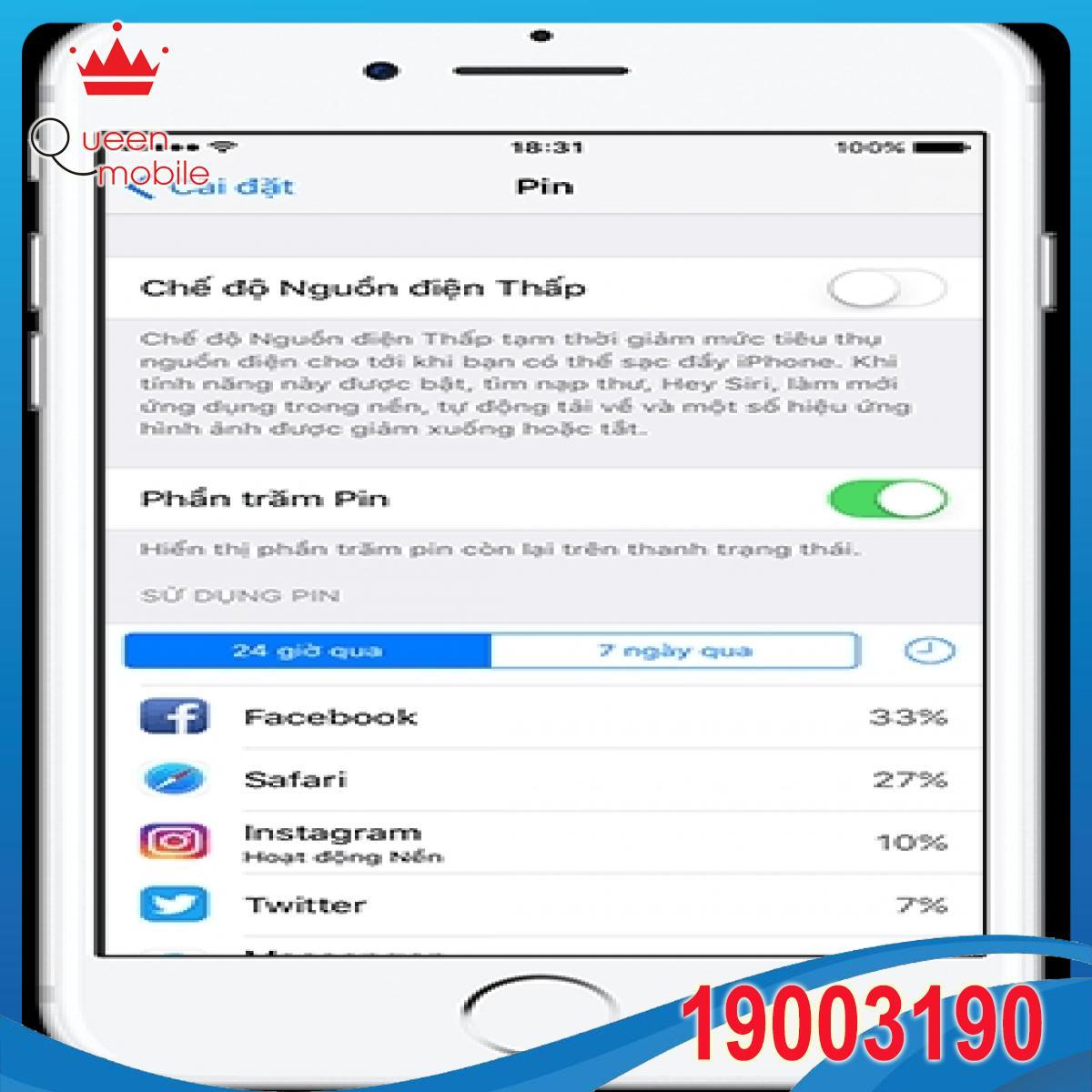 Lời khuyên tối ưu hóa thời lượng pin và tuổi thọ pin cho thiết bị iOS từ Apple