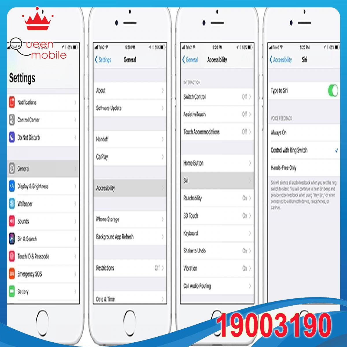IOS 11 cho phép bạn gõ để hỏi Siri thay vì phải nói như trước đây