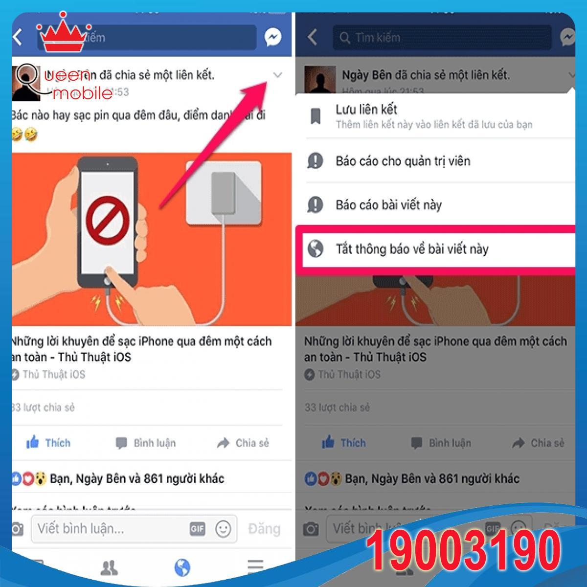 Hướng dẫn kiểm soát thông báo của Facebook trên iPhone và máy tính