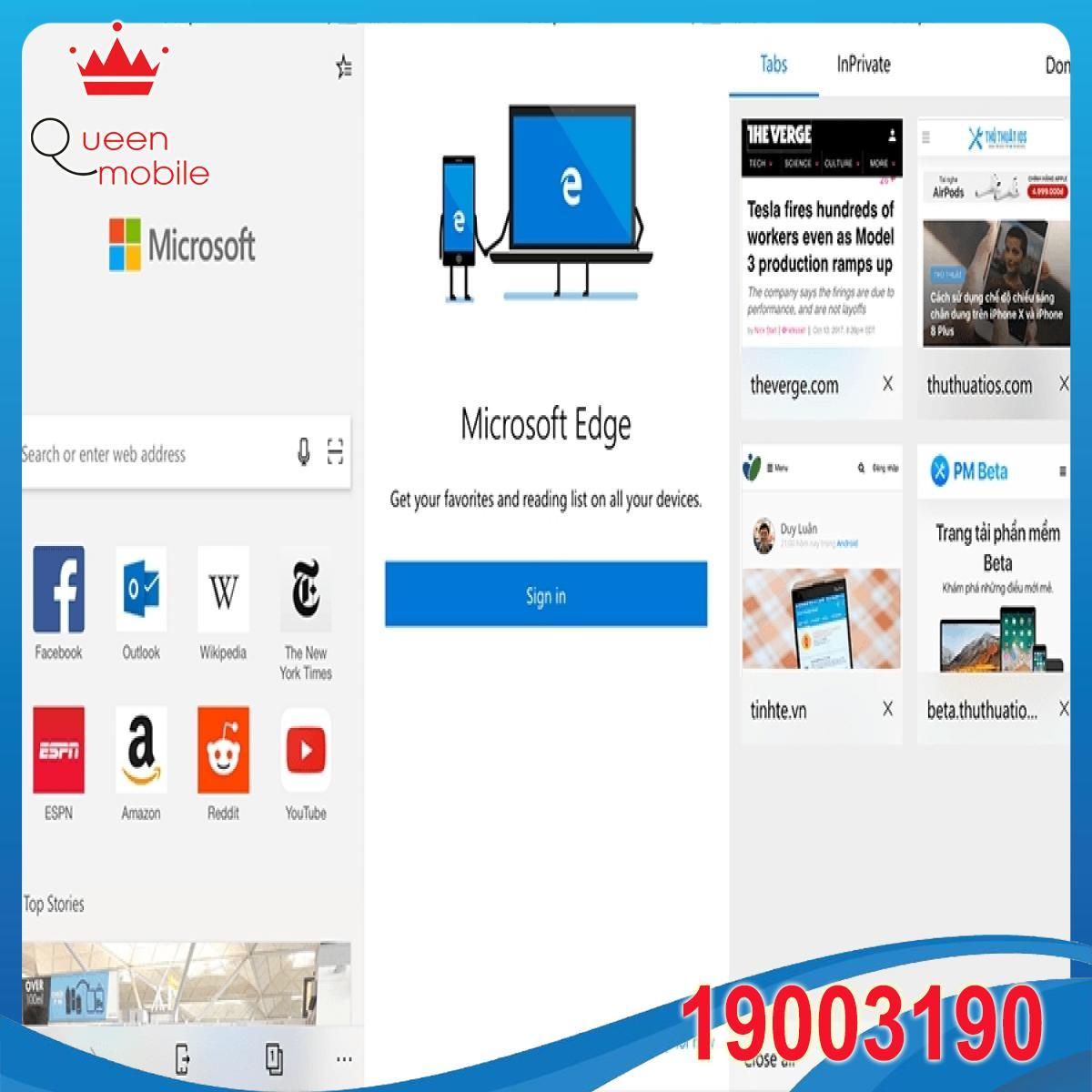 Dùng thử Microsoft Edge trên iOS: Trình duyệt hoàn hảo cho người dùng Windows 10?