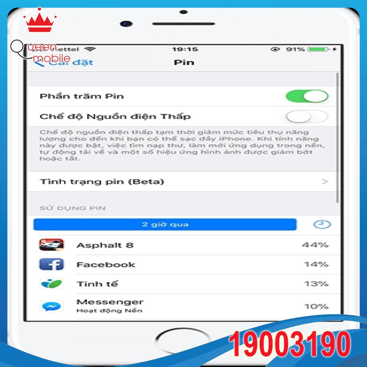 Hướng dẫn kiểm tra tình trạng pin của iPhone trên iOS 11.3