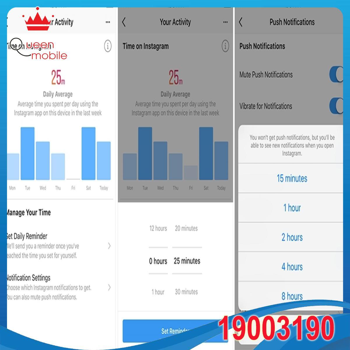 Facebook và Instagram đang triển khai tính năng thời gian sử dụng màn hình