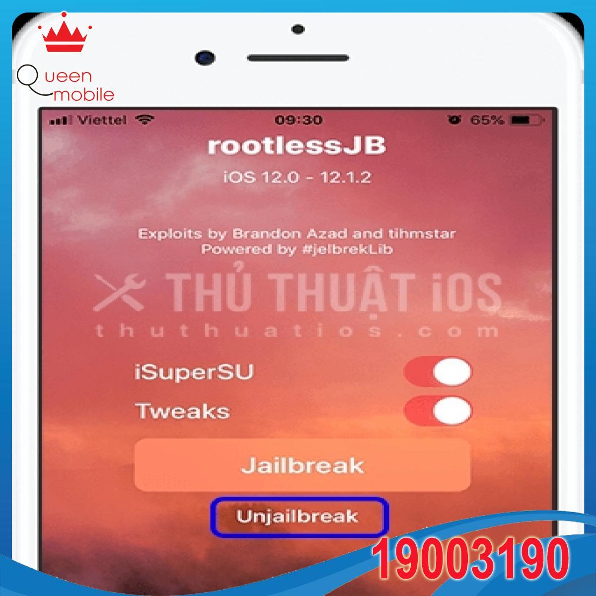 Hướng dẫn jailbreak iOS 12.0 – 12.4.1 bằng unc0ver có Cydia