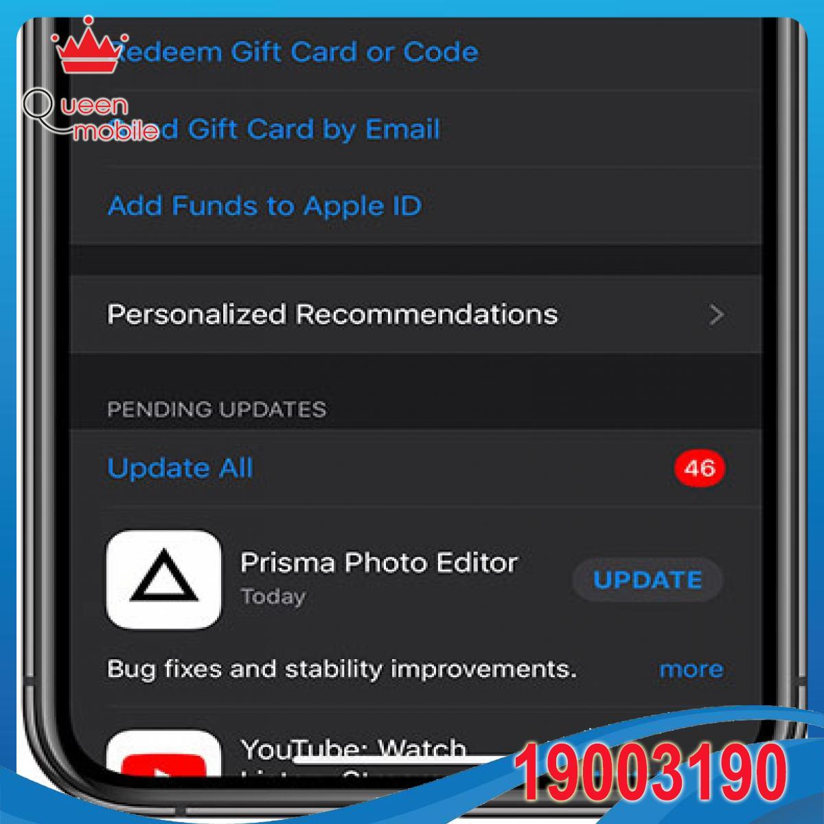 Cách cập nhật ứng dụng trên iPhone và iPad với iOS 13 và iPadOS