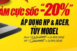 Laptop HP và Laptop Acer