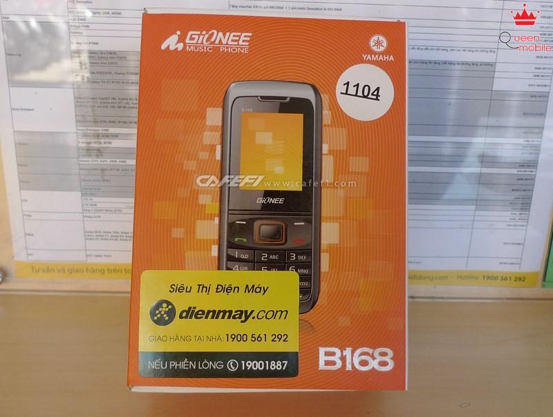 Gionee B168 điện thoại 2 sim 2 sóng  giá rẻ đa chức năng