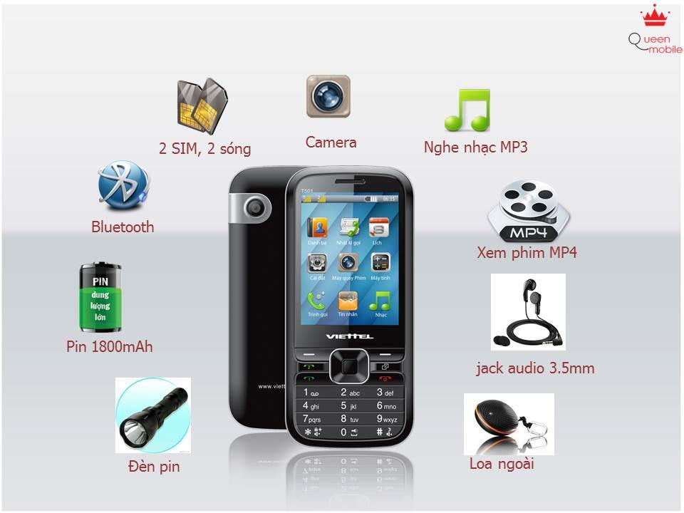 Viettel cho ra mắt điện thoại T501