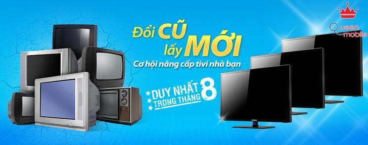 Đổi Tivi CRT cũ lấy Tivi LED Samsung