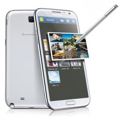 Galaxy Note II có màn hình 5.5 inch