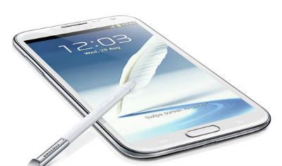Samsung Galaxy Note II N7100 với bút S-Pen