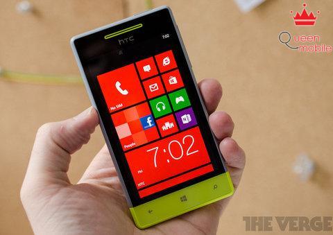 Ảnh thực tế của HTC Windows Phone 8S