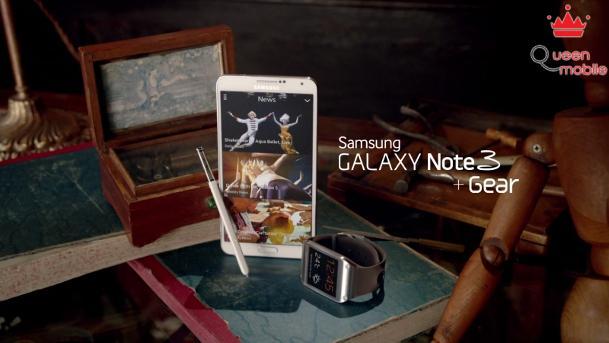 Samsung tung phim ngắn giới thiệu về Galaxy Note 3 và Galaxy Gear