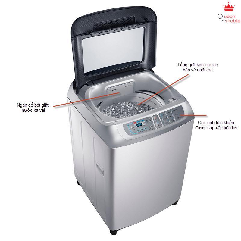 Máy Giặt Samsung WA10F5S5QWA 10 kg Lồng đứng