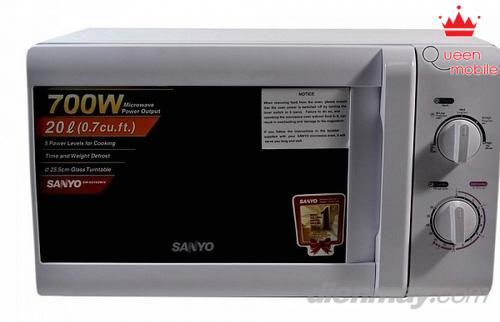 Lò vi sóng Sanyo EM-S2182W dễ dàng sử dụng