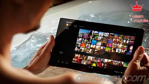 Sony Xperia Tablet Z 10.1 ấn tượng với khả năng chống thấm nước