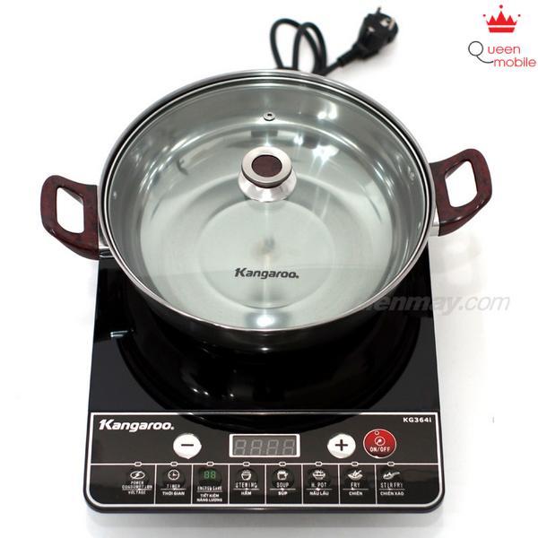 Bếp điện từ Kangaroo KG364I có ưu điểm hiệu suất cao