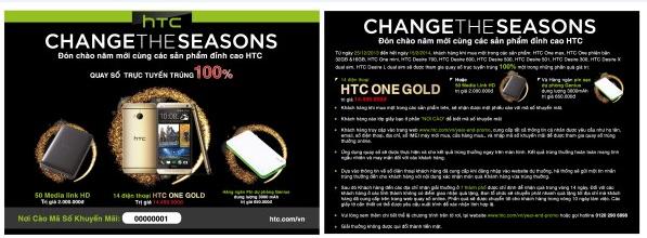 Đón năm mới cùng các sản phẩm đỉnh cao HTC