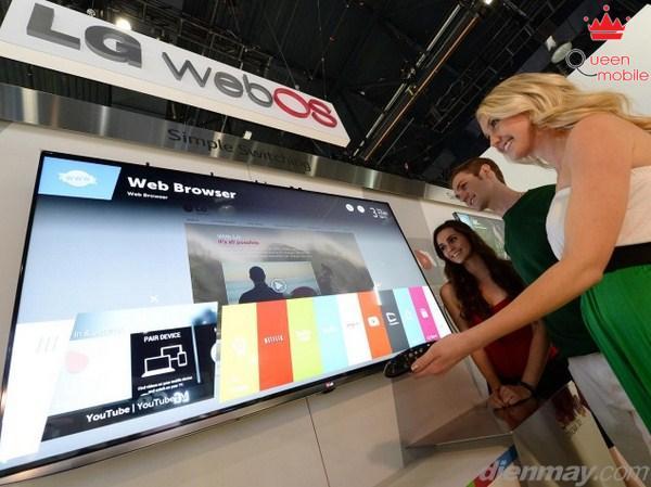 LG chính thức trình làng Smart TV chạy webOS