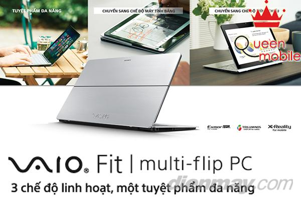 VAIO Fit multi-flip người hùng mới của Sony Vaio