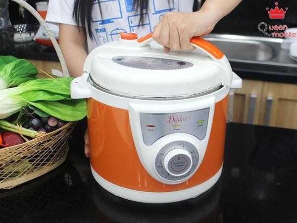 Hướng dẫn sử dụng nồi áp suất điện để nấu cơm