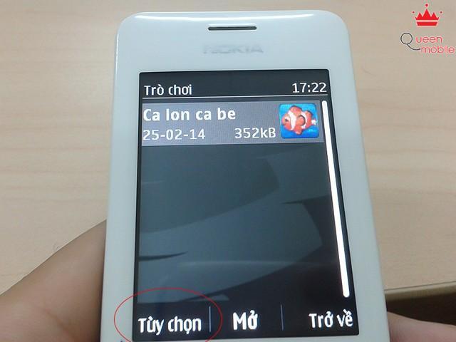 Cài game và ứng dụng trên feature phone