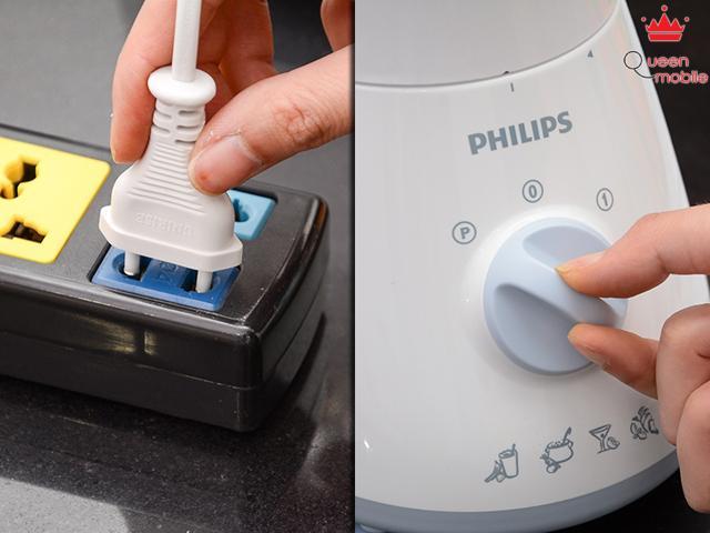 Cách sử dụng máy xay sinh tố