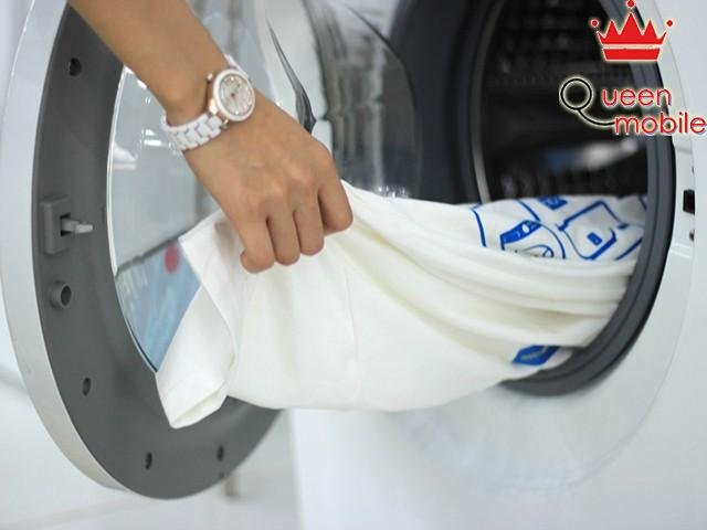 Một số lưu ý trước khi cho đồ vào máy giặt