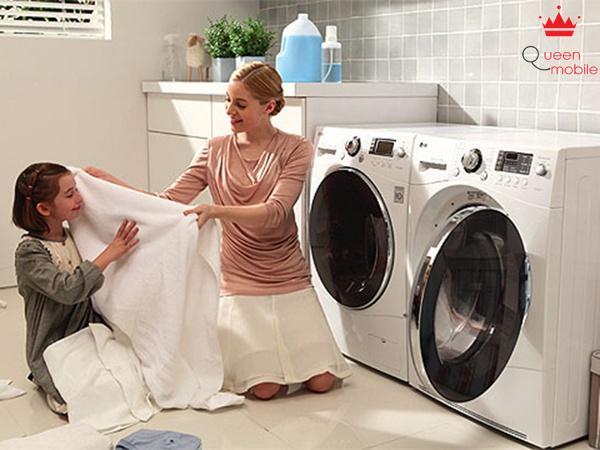 Những chú ý khi dùng máy giặt