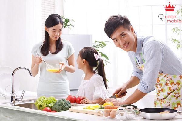 Chọn bếp phù hợp với gia đình bạn