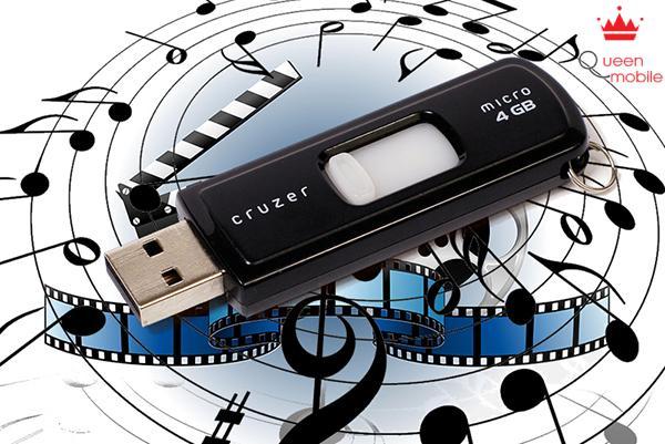 Xem phim, sao chép nhạc hình ảnh trực tiếp từ USB.