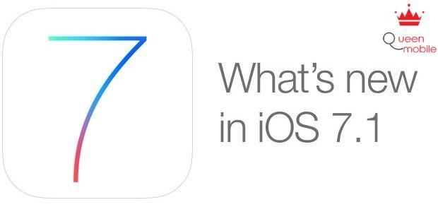 Những điểm nâng cấp trên IOS 7.1 và cách cập nhật trên iPhone, iPad