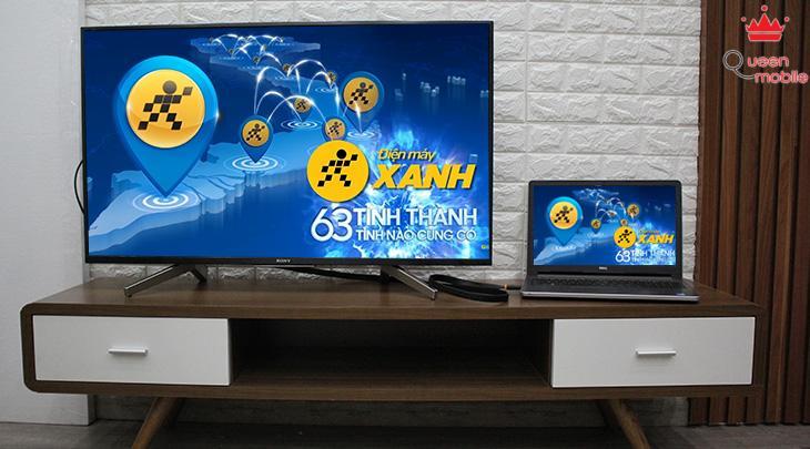Bạn đã dễ dàng xem mọi nội dung từ màn hình laptop trên tivi