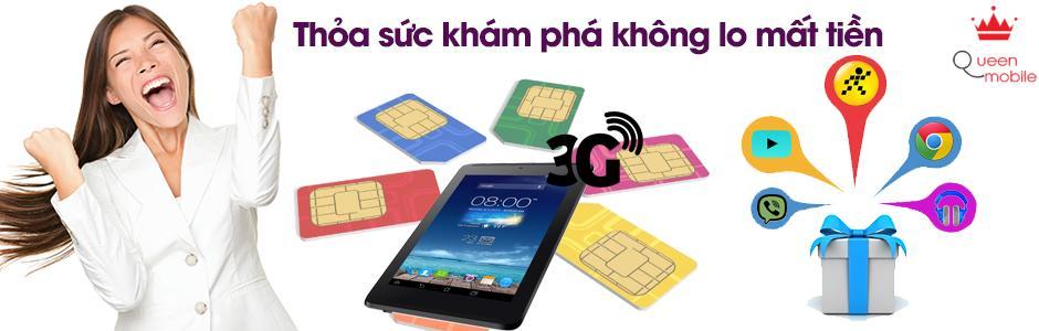Thông tin chương trình khuyến mãi tặng SIM 3G cho các dòng máy tính bảng có chức năng 3G