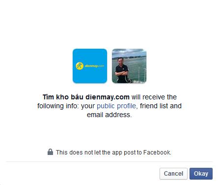Đăng nhập với facebook