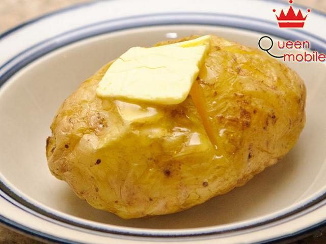 Nấu khoai tây