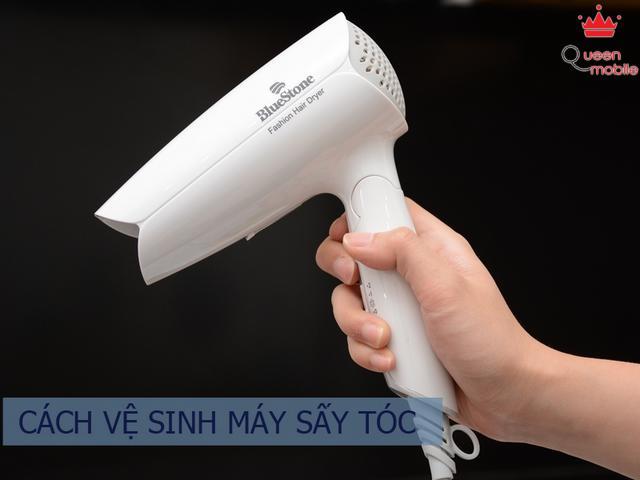 Cách vệ sinh máy sấy tóc