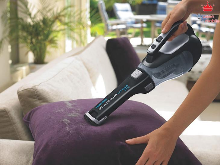 Hút sạch lông vật nuôi bám trên các đồ dùng trong nhà