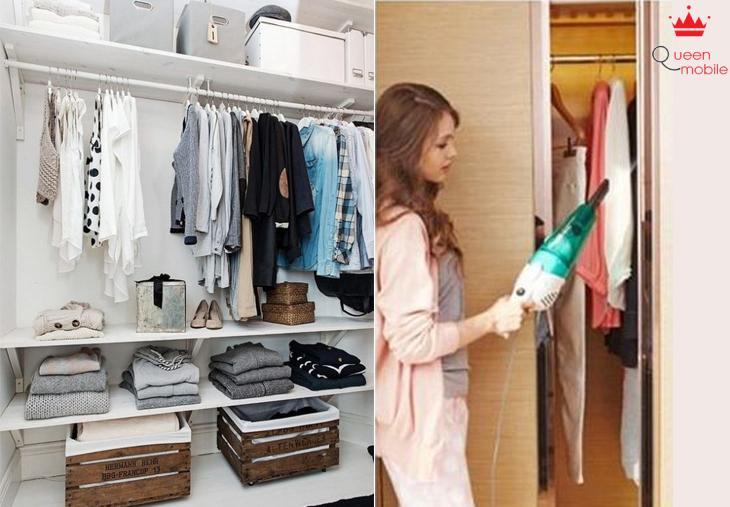 Dọn dẹp tủ đồ dễ dàng