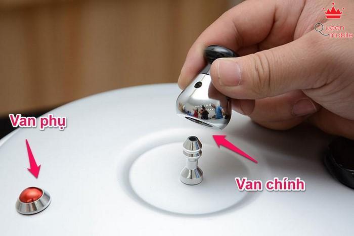 Nồi áp suất Supor YL18FB, 3.5 lít có cả van chính (quả tạ) và van phụ
