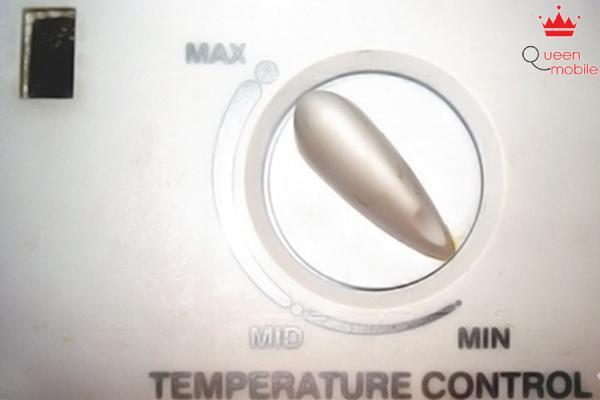 Kiểm tra nút vặn canh chỉnh nhiệt độ