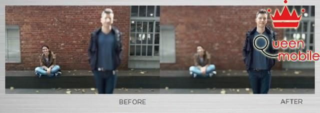 Ảnh chụp từ HTC One M8