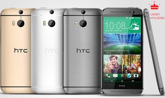 Ba lựa chọn màu sắc trên HTC One M8