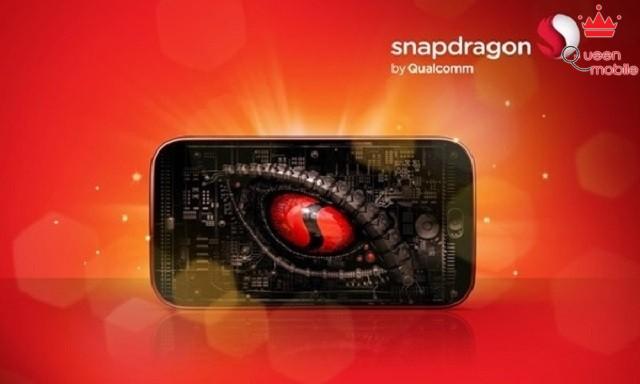 HTC One M8 sử dụng vi xử lý Snapdragon của Qualcomm