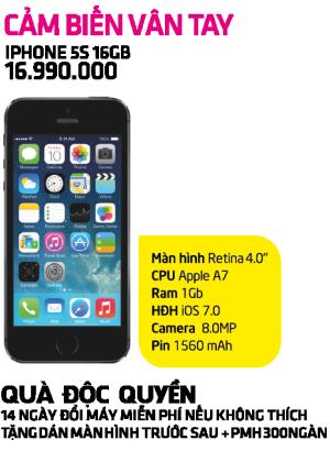 Hot Háo Hức - iPhone 5S