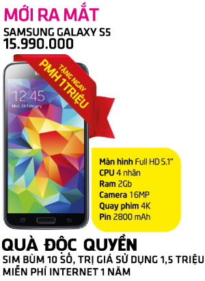 Hot Háo Hức - Samsung Galaxy S5